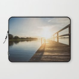 Sitting on the Dock of the Bay Laptop Sleeve