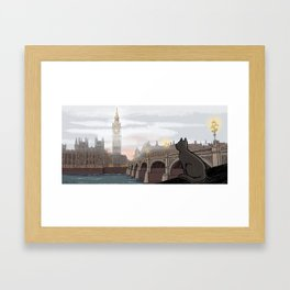 London Fog Framed Art Print