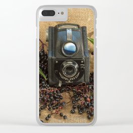 Ensign and the Elderberries Clear iPhone Case