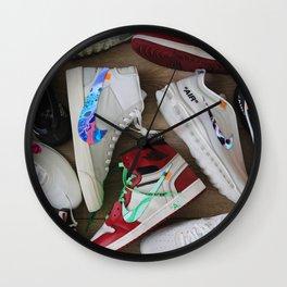 """shoes"" Wall Clock"