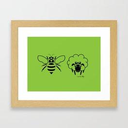 Be You (Bee Ewe) Framed Art Print