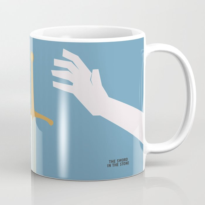 The Sword in the Stone - Movie Poster - Penguin Book version Coffee Mug