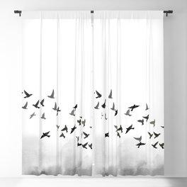 Bird flock Blackout Curtain