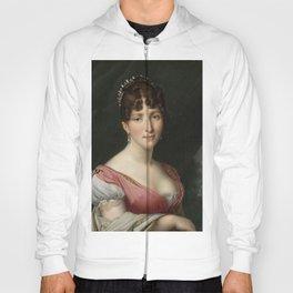 Anne-Louis Girodet de Roussy-Trioson - Portrait of Hortense de Beauharnais, Queen of Holland Hoody