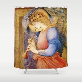 Angel Gabriel Antique Spiritual art Shower Curtain