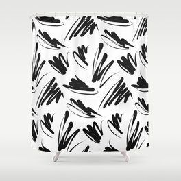 Abstract pattern Shower Curtain