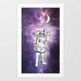 Astronaut Kunstdrucke