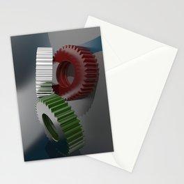 Italian gears, precision mechanics Stationery Cards