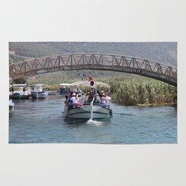 Boat Tour Along the Azmak Akyaka Turkey Rug