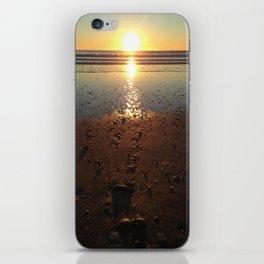 Sunrise waves iPhone Skin