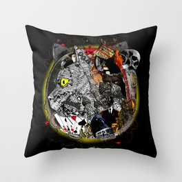 Master and Margarita Throw Pillow