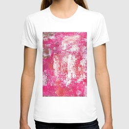 Roses Play Color On Ice T-shirt