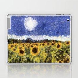 Sunflower Summers Van Gogh Laptop & iPad Skin