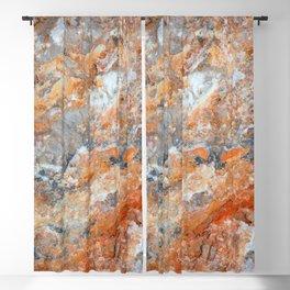 Rusty Rock Textures 47 Blackout Curtain