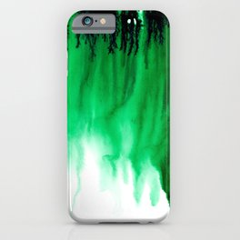 Emerald Bleed iPhone Case