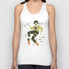 To Pieces Unisex Tank Top