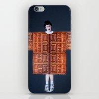 philosophy iPhone & iPod Skins featuring Philosophy of a Geisha by Kristina Haritonova
