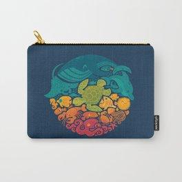 Aquatic Rainbow Carry-All Pouch