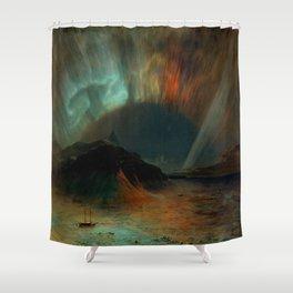Aurora Borealis by Frederic Edwin Church Shower Curtain