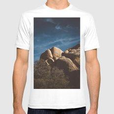Joshua Tree National Park XIII Mens Fitted Tee MEDIUM White