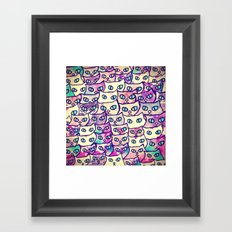 cat-114 Framed Art Print