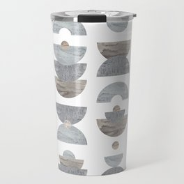semicircle pattern Travel Mug