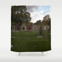 history Shower Curtains featuring History. by Litew8