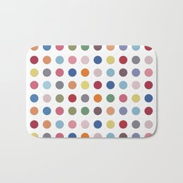 Polka Dots - Color Love Bath Mat