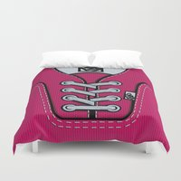 vans Duvet Covers featuring Pink Vans shoes iPhone 4 4s 5 5s 5c, ipod, ipad, pillow case and tshirt by Three Second