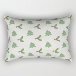 Christmas trees pattern Rectangular Pillow