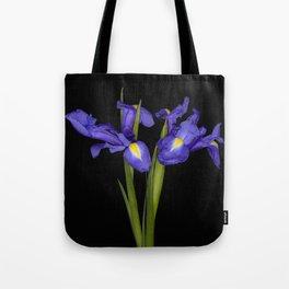 Pretty Iris Tote Bag