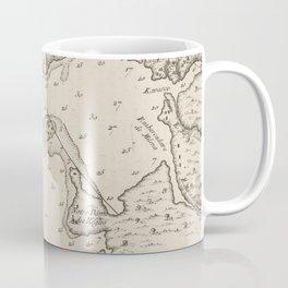 Vintage Map of Havana Cuba (1764) Coffee Mug