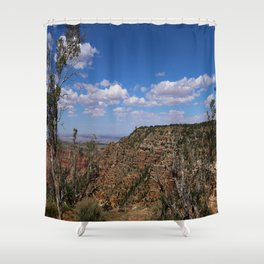 Grand Canyon View From Navajo Point Shower Curtain