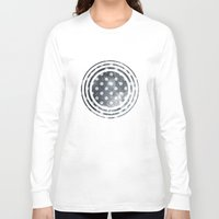 polka Long Sleeve T-shirts featuring Polka Universe by Paula Belle Flores
