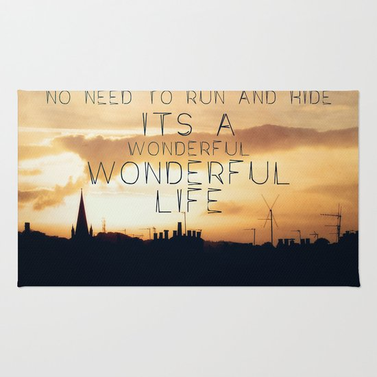 It's A Wonderful Life Rug