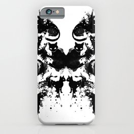 Rorschach Test Cat's On My Mind iPhone Case