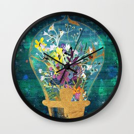 Life Under The Dome Wall Clock