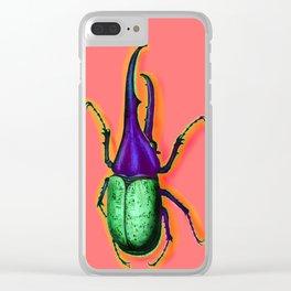 Hercules Beetles Clear iPhone Case
