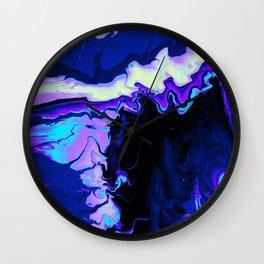 Fluid Astral Reverse Wall Clock