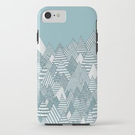 Winterly Forest iPhone Case