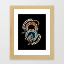 STAR PORTALS Framed Art Print