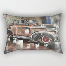 Vintage Car Antique Car 40's car 1940's car Rectangular Pillow