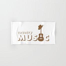 Country music Hand & Bath Towel