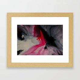 Wet paint 1 Framed Art Print