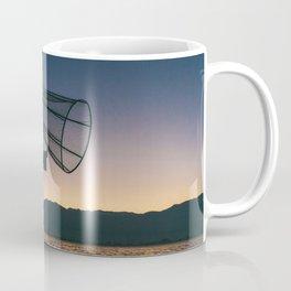 Burmese Fisherman Coffee Mug