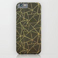 Ab 2 R Black and Gold Slim Case iPhone 6s