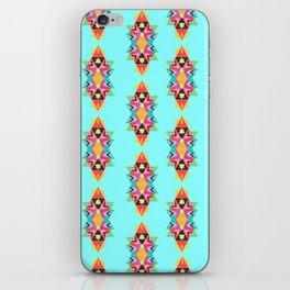 "Geometric ""totem"" inspired pattern iPhone Skin"