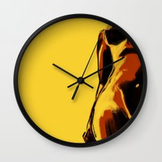 Swimmer #2 Wall Clock