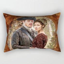 Autumn outlander Rectangular Pillow