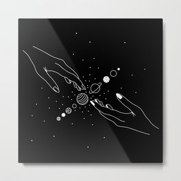 Planets Align 2.0 Metal Print